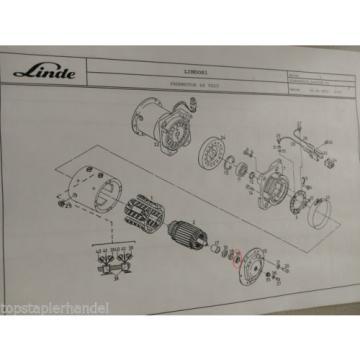 Cuscinetto A Rulli Cuscinetto Motore Di Trazione 42x30 Linde No. 009248270 Tipo