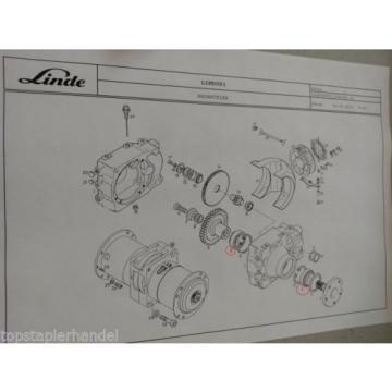 Cuscinetto a rulli cuscinetto Linde no. 9509000875 Tipo H/T/L/E BR 131,144,