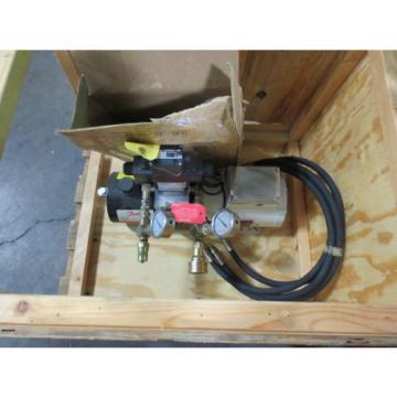 Danfoss Hydraulic Pump Part No. JMG-1526 1.0 HP w/ Hoses and Connectors New