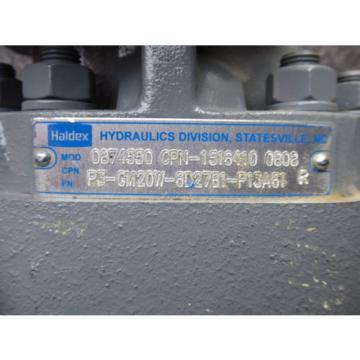NEW HALDEX HYDRAULIC PUMP 0874550 # P3-GM20W-6D27B1-P13A61R # 1516410-0808