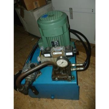 FBO  Hydraulic Pump With 8 Gallon Oil Reservoir Leroy-Somer
