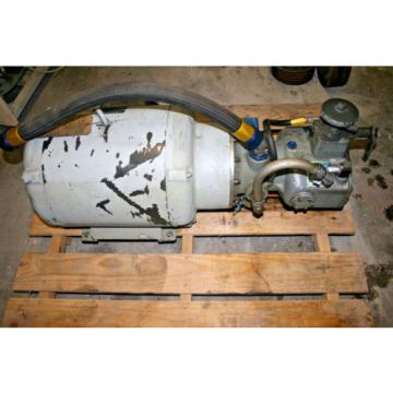 Abex Dennison Hydraulic Pump PV221-010-3Ul-060-56Z w Marathon Mtr CL326UTDR612BB