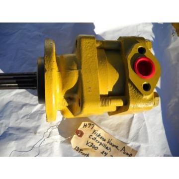 VICKERS V300 24 20A 11 S55LH HYDRAULIC PUMP off CATERPILLAR CAT
