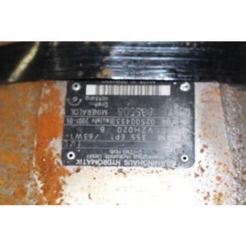 Rexroth France Korea A6VM 355 EP1/6W1-VZH020B HYDROMATIK MOTOR