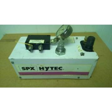 SPX HYTEC OTC AIR OVER HYDRAULIC PUMP 100920 MODEL G 5000 PSI