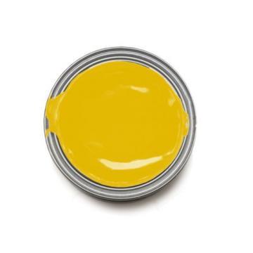 IRON GARD 1L Enamel Paint KOMATSU YELLOW Excavator Auger Loader Skid Bucket Dig