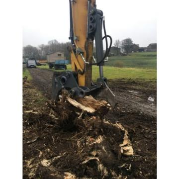 13 Ton Excavator Tree Stump Shear - Root Shear Root Harvester  CAT JCB KOMATSU