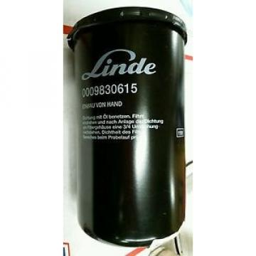 New LINDE 0009830615 HYDRAULIC OIL FEED FILTER Automatic Transmission SHIPS Free