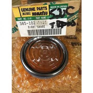 385-10235121 Genuine Komatsu Gauge Oil Sight