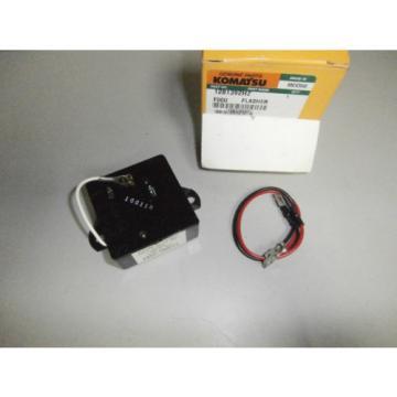 New Genuine Komatsu 1281392H2 Flasher Signal Stat 258  24V *NOS*