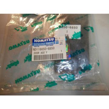 NEW Genuine Komatsu ND116650-6850 Door Assembly Foam Pad ND1166506850 OEM *NOS*
