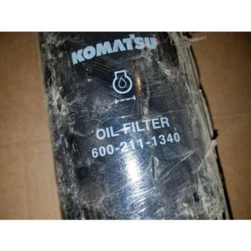 NOS Genuine Komatsu 600-211-1340 6002111340 Lube Filter BD7355 LF9018