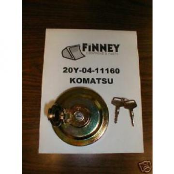 Komatsu Excavator Locking Fuel Cap 20Y-04-11160 NEW key