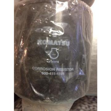 Komatsu CORROSION RESISTOR ELEMENT cartridge #600-411-1191 LOT OF 2