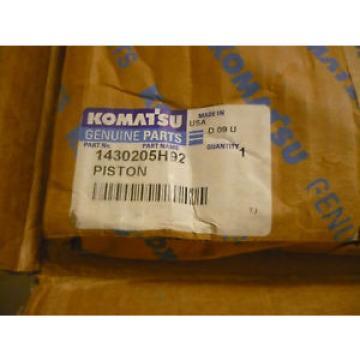 New OEM Komatsu Piston 1430205H92 Open Packaging