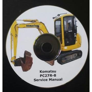 KOMATSU PC27R-8 SERVICE MANUAL * FREE UK POSTAGE *