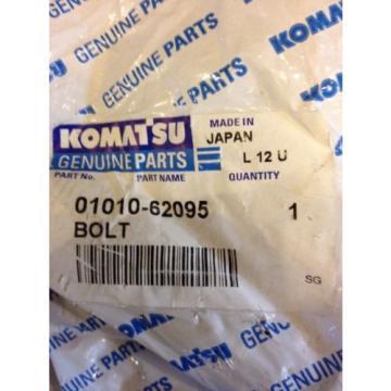 New Komatsu OEM Bolt 01011-62095 Warranty! Fast Shipping!