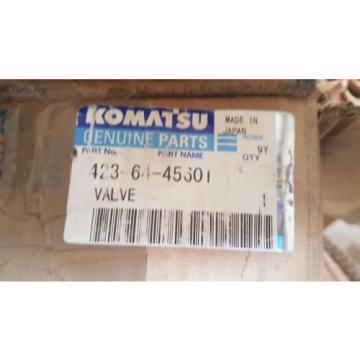 New Komatsu Hydraulic Valve 4236445601 / 4236445601 Made in Japan