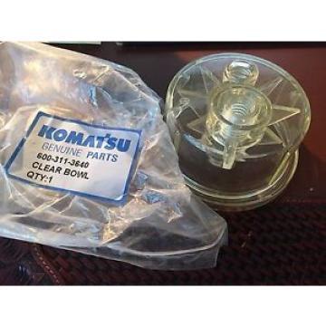 Genuine Komatsu Parts 6003113640