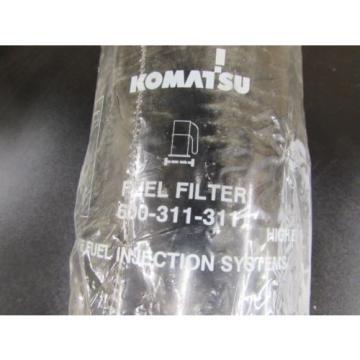 NOS NEW GENUINE KOMATSU FUEL FILTER 600-311-3111