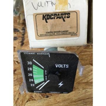 1104081C1 Genuine Komatsu Volt Gauge