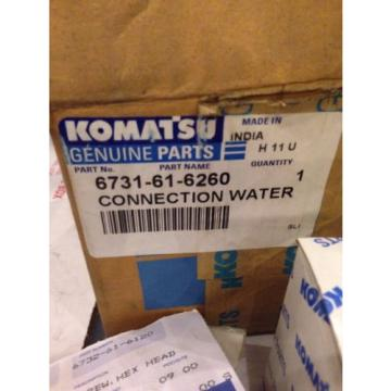 New OEM Komatsu Excavator Genuine Parts Water Connection Kit 6735-61-1690