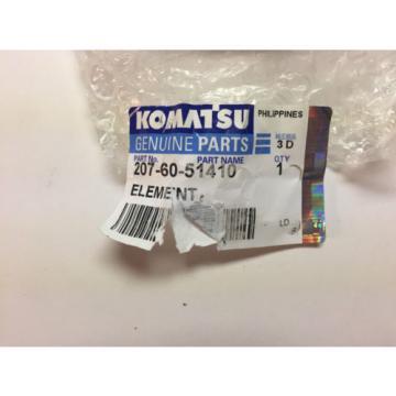 KOMATSU ELEMENT FILTER 207-60-51410