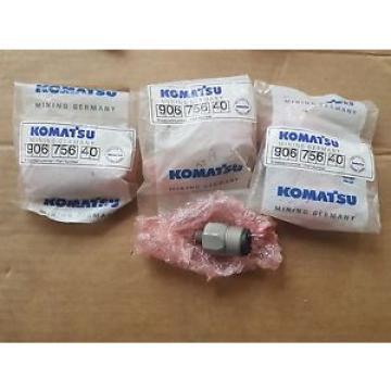 QTY of 3 New Komatsu Mining Germany Pressure Switch 906 756 40 / 90675640