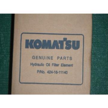 NEW GENUINE KOMATSU HYDRAULIC OIL FILTER ELEMENT part # 424-16-11140
