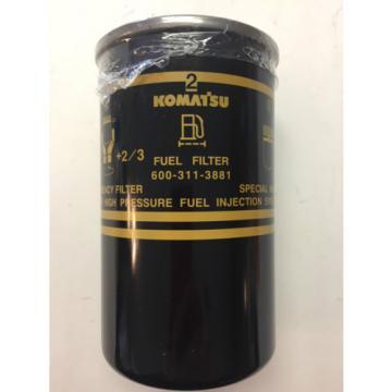 Komatsu Fuel Filter 600-319-3881  High Pressure Fuel Injection