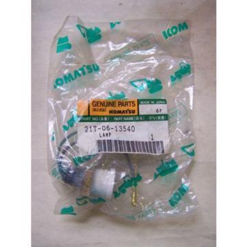 Komatsu D155-275-355.. Water Level Light - Part# 21T-06-13540 Unused in Package