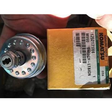 1252171H4 Genuine Komatsu Light Ignition Switch