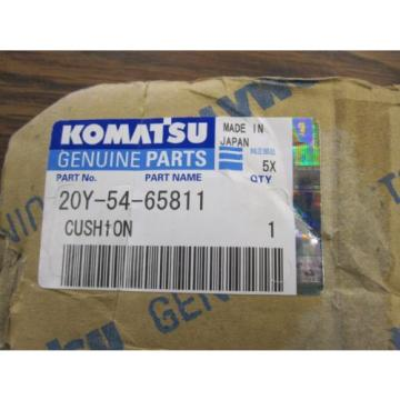 NEW GENUINE KOMATSU CUSHION 20Y-54-65811