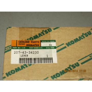 Komatsu 207-43-34230 Lever Genuine