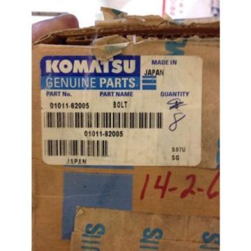 New OEM Komatsu Genuine Parts Bolts Lot Of 8 01011-62005 Warranty! Fast Ship!
