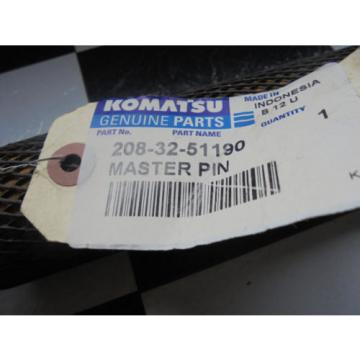 208-32-51190 - KOMATSU, PIN, TRACK MASTER, PC450LC-7, Fits CAT, Caterpillar