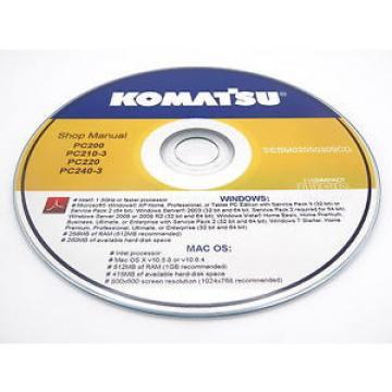 Komatsu PC03-2 Hydrauclic Excavator Operation & Maintenance Operators Manual