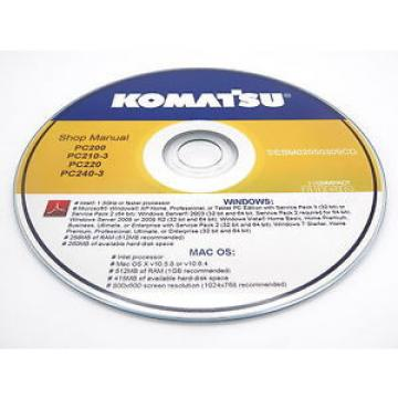 Komatsu PC03-2 Hydraulic Excavator Shop Workshop Repair Service Manual