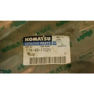 KOMATSU genuine part # 17A-49-17321 PART NAME HOSE