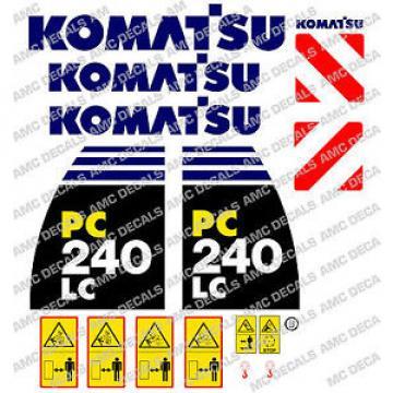 KOMATSU PC240LC -8 DIGGER DECAL STICKER SET