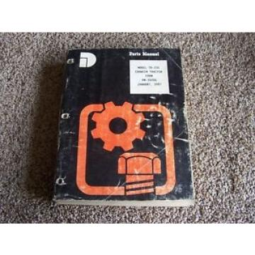 Komatsu TD-20G Crawler Tractor Factory Original Parts Catalog Manual Manual
