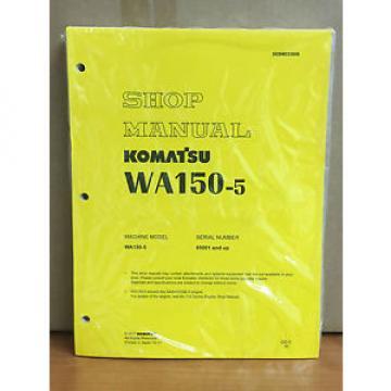 Komatsu WA150-5 Wheel Loader Shop Service Repair Manual (H50051 & up)