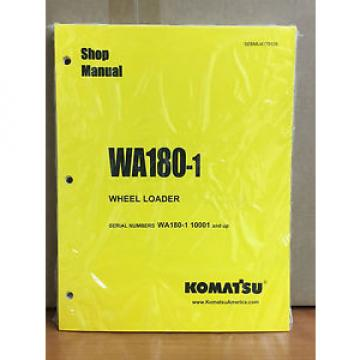 Komatsu WA180-1 Wheel Loader Shop Service Repair Manual