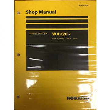 Komatsu WA320-7 Wheel Loader Shop Service Repair Manual