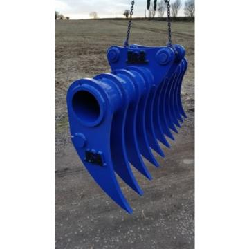 JSA Excavator Landscape Root Rake 30mm HARDOX  13-18 Ton HD JCB Case CAT KOMATSU