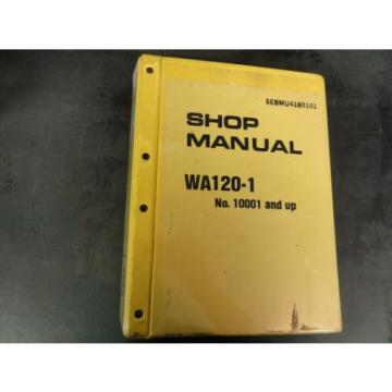 Komatsu WA120-1 Wheel Loader Shop Manual