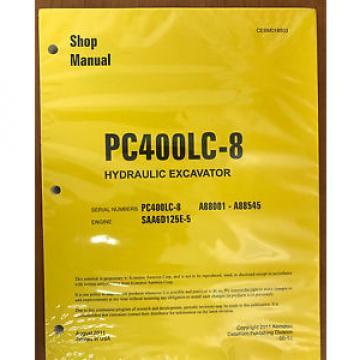 Komatsu Service PC400LC-8 Manual Shop Repair