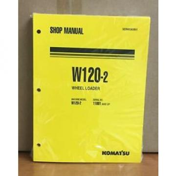 Komatsu W120-2 Wheel Loader Shop Service Repair Manual