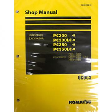 Komatsu PC130-8 Shop Service Repair Printed Manual