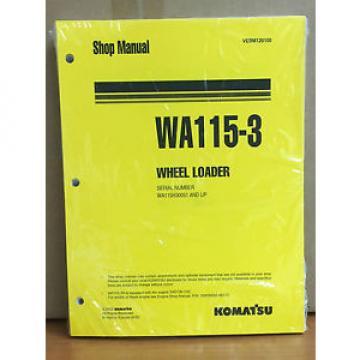 Komatsu WA115-3 Wheel Loader Shop Service Repair Manual